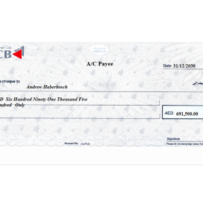 QuickBooks Cheque Printing