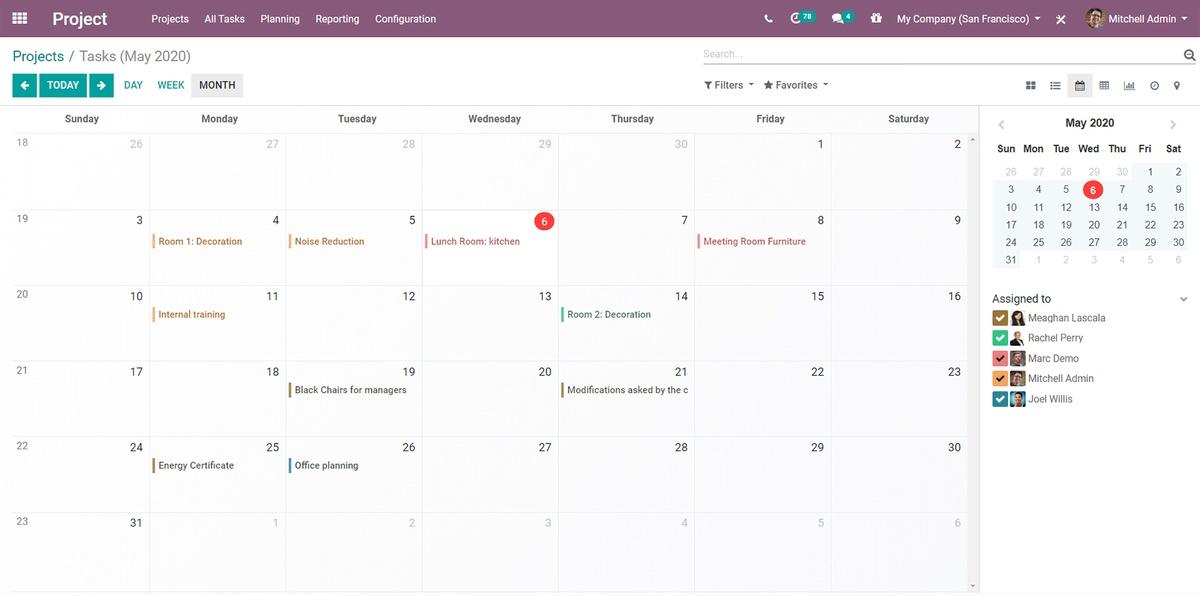 odoo uae dubai sharjah abu dhabi project schedule